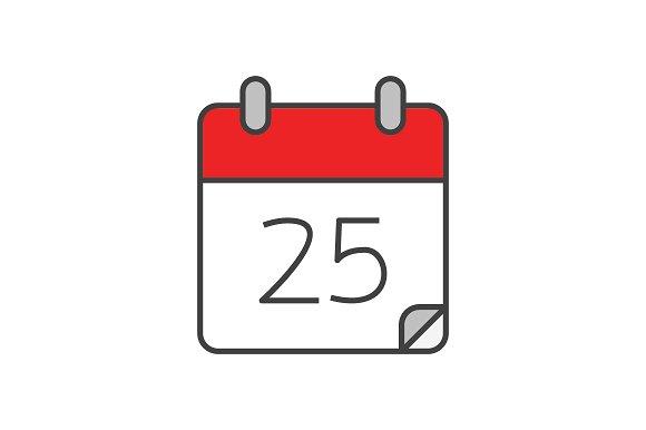 calendar-flat-line-icon-01-